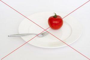 Crosstrainer abnehmen, aber nicht auf Essen verzichten